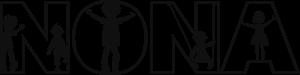 nona_logo_must-valge_vektorgraafika