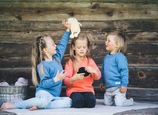 laste puuvillane kapsun_teksasinine1