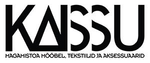 kaissu_logo ja slogan_EST_BW