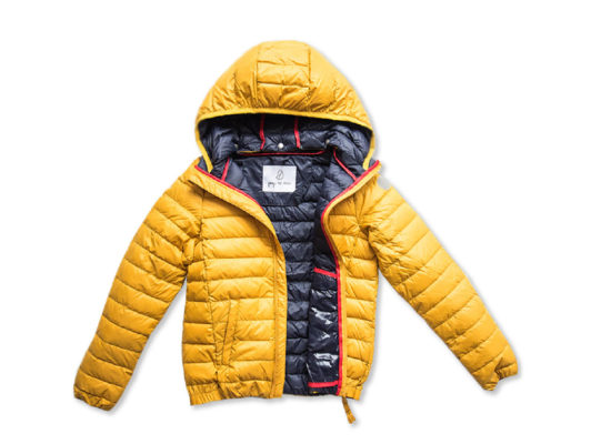 pengu-kids-amber-yellow-ultra-light-down-jacket-for-boys-and-girls-for-spring-autumn-season-in-product-view