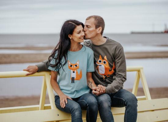 hilp mees ja naine rannas