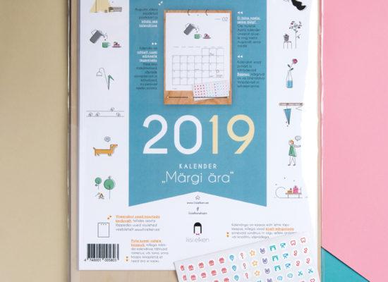 Kalender Märgi ära 2019 kaas