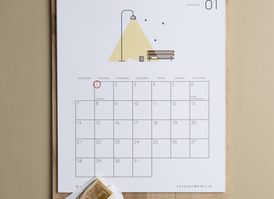 Kalender Märgi ära 2019 jaanuar