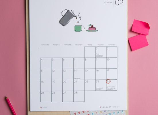 Kalender Märgi ära 2019 veebruar