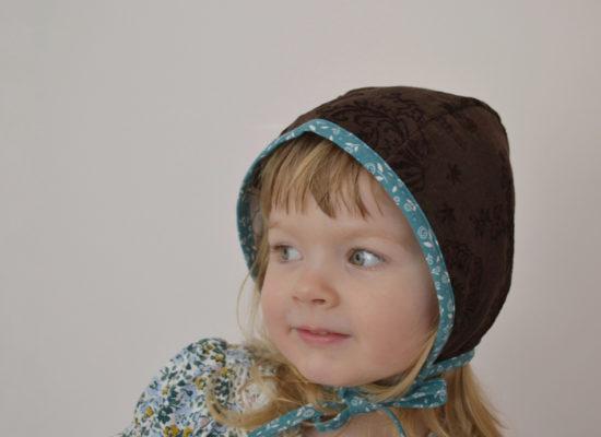 coffe brown corduroy bonnet (1)